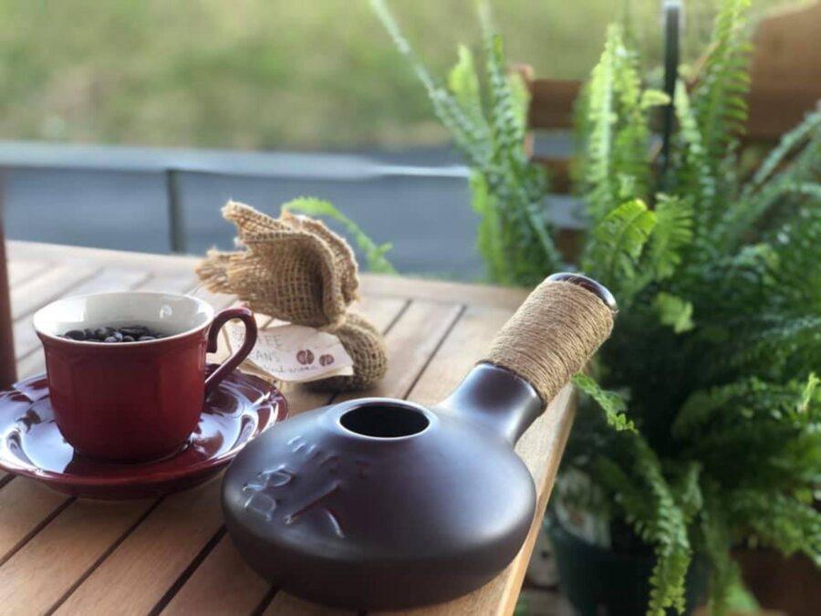 コーヒー手焙煎
